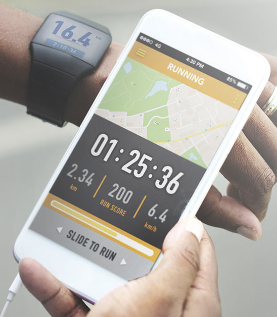 Peak's Trainerize smartphone application