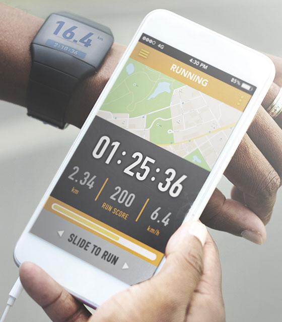 Peak's Trainerize smartphone application